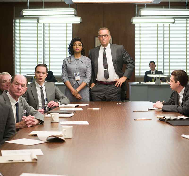 Hidden figures tops box office for the january 6 8 weekend for Bureau of the hidden ones